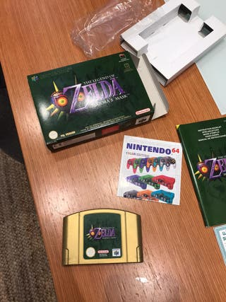 Zelda Majora's Mask nuevo Nintendo64