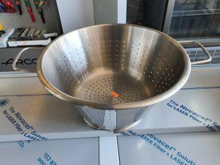 Colador de Acero Inoxidable 35 cm