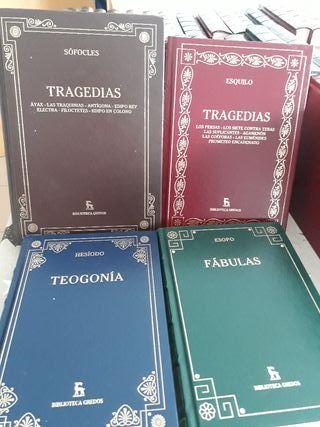 Libros Hesiodo Esopo Esquilo Sofocles
