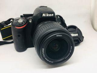 Camara Reflex Nikon 5100D
