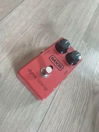 pedal de guitarra MXR
