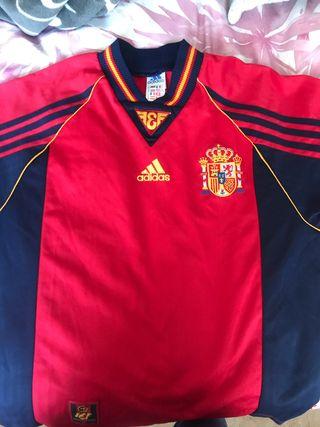 Camiseta Seleccion Española 1998 talla S adulto