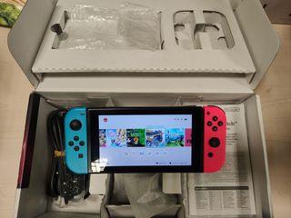 Switch Libre + 15 juegos + Accesorios