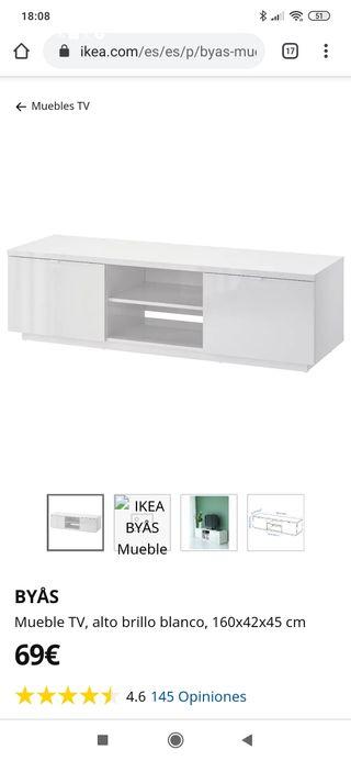 Mueble TV Ikea blanco URGE VENTA
