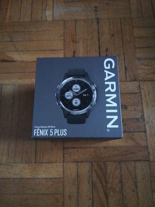 RELOJ GPS GARMIN FENIX 5 PLUS NUEVO