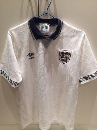 Camiseta Inglaterra copa del mundo 1990