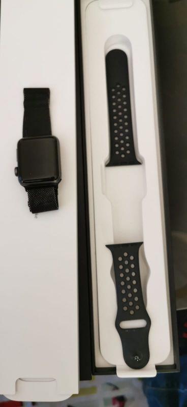 Apple watch serie 3 38mm gps nike