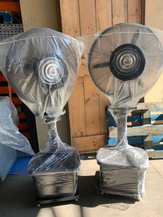 ventiladores de agua