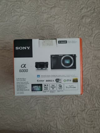 Sony Alpha 6000 cámara ILCE-6000l/h