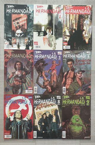 X-MEN. LA HERMANDAD. SL de 9 comics. Forum 2002
