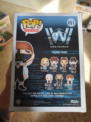 Young Ford Westworld Funko Pop! exclusivo