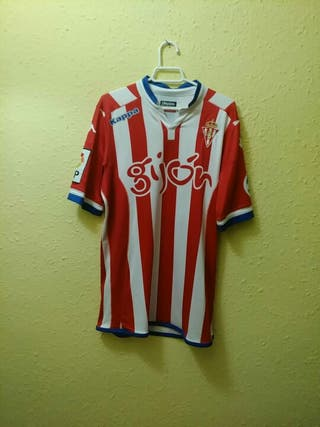 Match Worn Sporting Gijón Mascarell sin lavar!!!!!