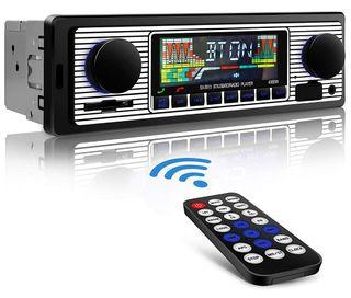 AUTORADIO BLUETOOTH 4*60W RADIO COCHE MANOS LIBRES