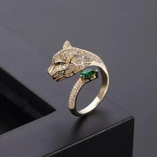 Panther Gold Ring