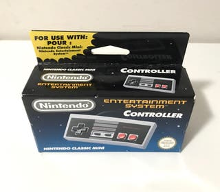 Mando original de Nintendo NES mini PRECINTADO