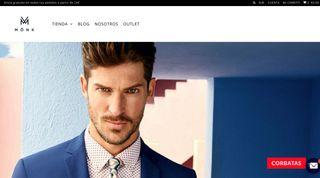 Traspaso tienda online complementos masculinos