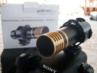 Micrófono profesional Walimex Pro