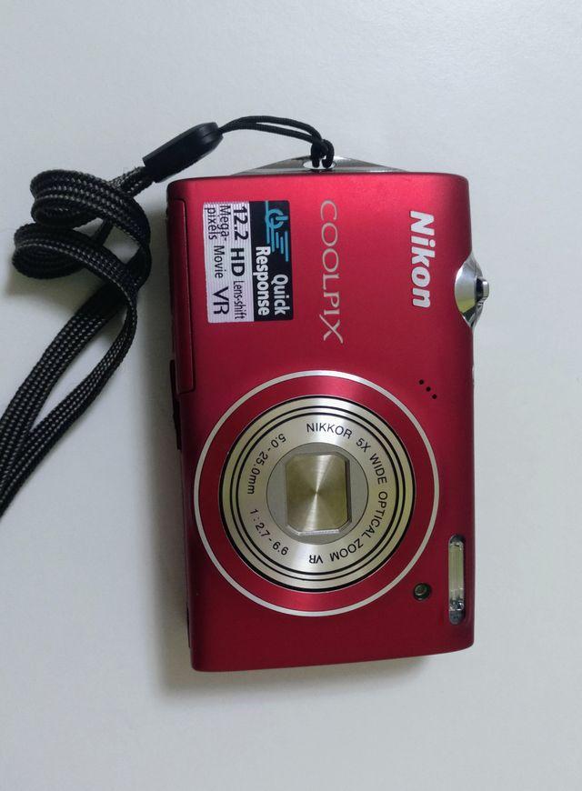 Cámara de fotos NIKON COOLPIX S100