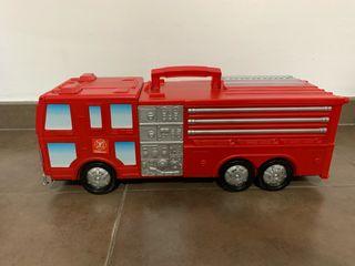 Camión bomberos con circuito