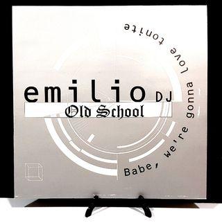 EMILIO DJ OLD SCHOOL disco vinilo nuevo