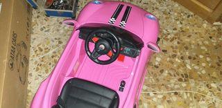 coche de batería niña