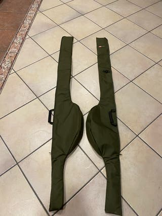 Fundas individuales 12 pies cañas Carpfishing