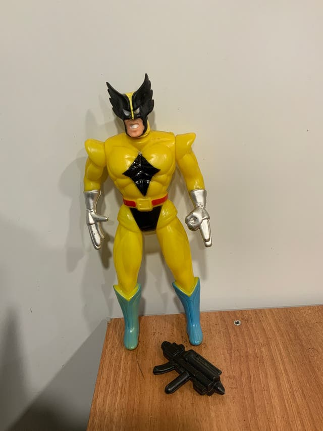 Figura vintage Lobezno/Wolverine