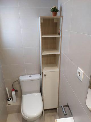 armario estantería baño