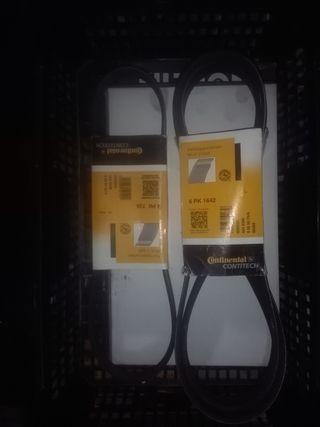 Correas accesorios Ford mondeo tdci 130cv 2004.