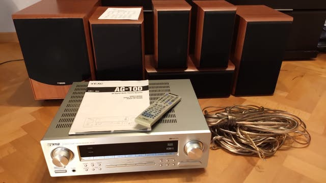 Home Cinema HiFi Amplificador y Altavoces