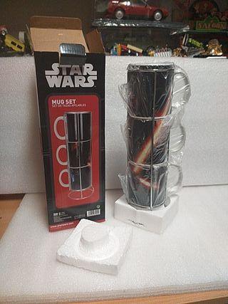 Star Wars tazas de café con leche