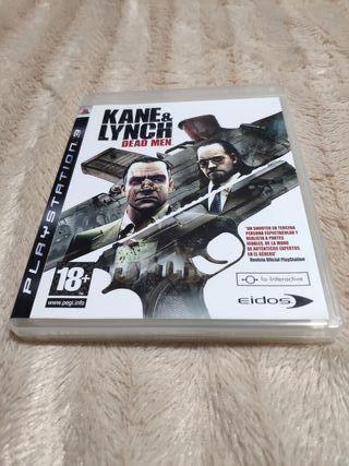 """PS3-Kane & Linch """"Dead Men"""""""
