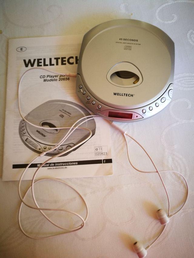 Reproductor portátil CD player