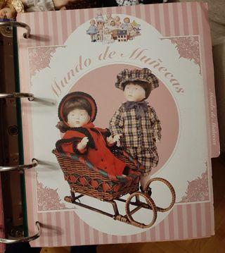 Colección muñecas bebé de porcelana + libro