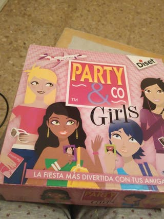 Juego de mesa Party co Girls
