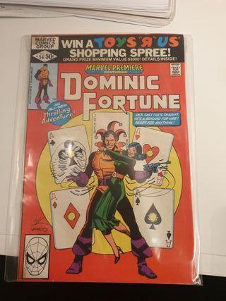 Marvel premiere 56. Dominic Fortune.