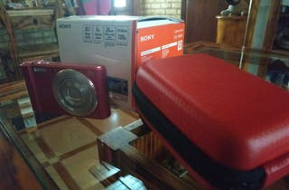 Cámara Sony W810 Rosa