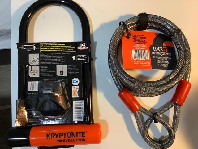 Security lock and security cable