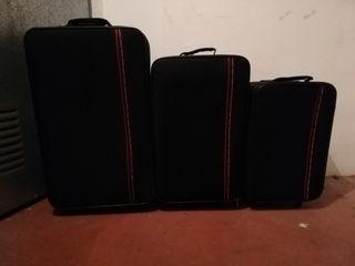 Juego de 3 maletas