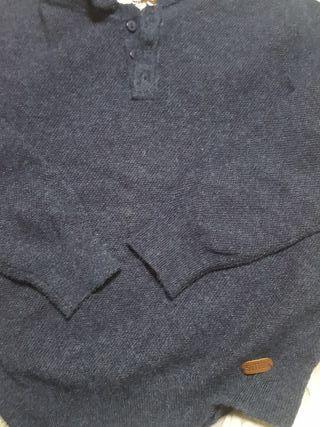 jersey azul.marino niño