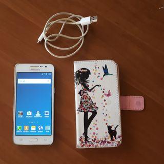 Samsung +Funda tarjetero +Cable