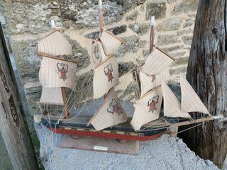 Maqueta velero español