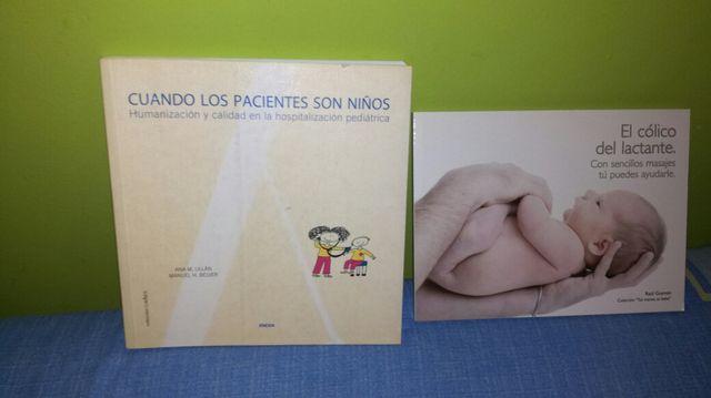 Cuidados del bebé , lote 2 libros