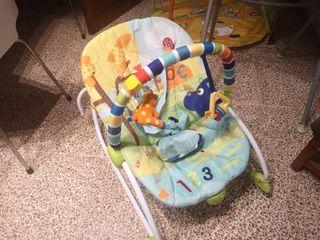 Carrito bebé, Biberones, Bañera, Parque juegos...