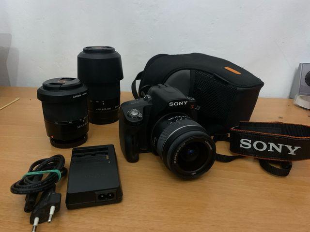 Equipo fotografico Sony alpha 390