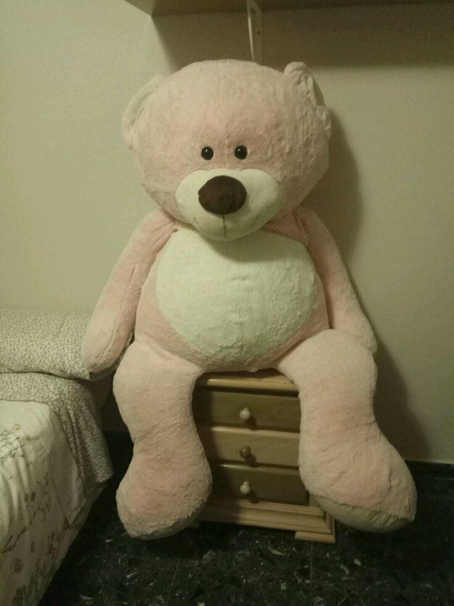Peluche oso rosa
