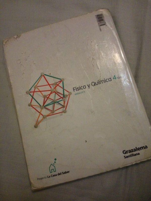Libro Física y Química 4 ESO - SANTILLANA
