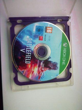 Battlefield V xbox one sin caratura
