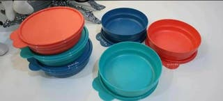 Set Platos Tupperware