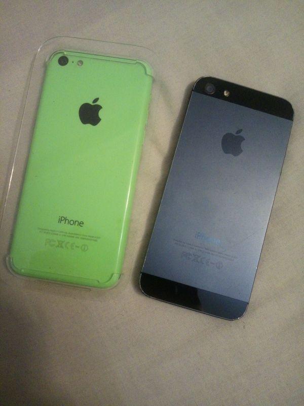 Iphones 5 y 5C